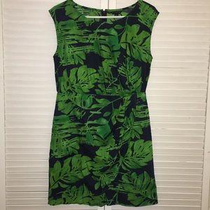 Women's Banana Republic Tropical Leaf dress